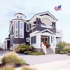 Colorful Jersey Shore Cottage Tour- Coastal Living