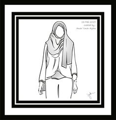 Hijab vector 4