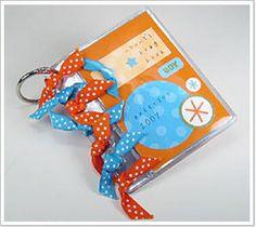 Badge Holder Minibook-Weekly Inkling-Splitcoaststampers Issue #062 June 27th 2007