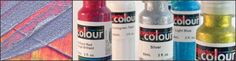 Tri Art Spectral Colour: an innovative combination of coloured mylar in an acrylic emulsion. It's permanent and flexible, the ideal paint for accenting crafts, sculpture and more. @Gwartzman's Art Supplies #color #crafts