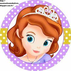 Princesa Sofía: Etiquetas Gratis para Candy Bar.