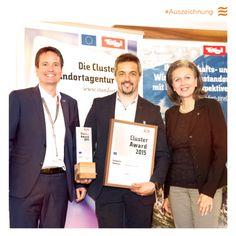 Für die Entwicklung der nachrüstbaren Infrarotdusche Intense Smart erhält Physiotherm den Tiroler Cluster Award 2015  in der Kategorie Wellness. http://www.physiotherm.com/infrarotkabine/intense-smart/#0