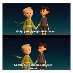 The Little Prince - The Little Prince - Helen The Little Prince Movie, Learn Turkish Language, Vintage Hipster, Favorite Words, Cute Love, Movie Quotes, Love Songs, Cool Words, Best Quotes