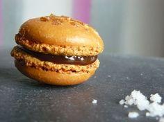 Macarons caramel au beurre salé