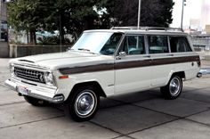 1978 Jeep Wagoneer Maintenance/restoration of old/vintage vehicles: the material for new cogs/casters/gears/pads could be cast polyamide which I (Cast polyamide) can produce. My contact: tatjana.alic@windowslive.com