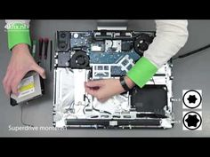 "iMac 20"" CD drive vervangen. #ikfix #macrepair #iMac #apple #youtube #drive"