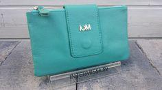 IM CLUTCH / WALLET / CROSSBODY _ Turquoise   SALE   BAGS BY MI.