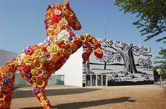Japanese Museum, Giraffe, Harem Pants, Animals, Travel, Felt Giraffe, Harem Trousers, Animales, Viajes