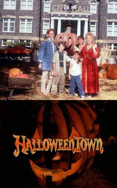 Halloweentown. I always make it a point to watch this every single year.