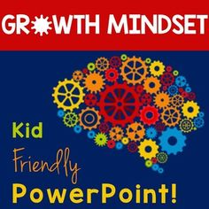"""Do you have students who have a difficult time doing anything that is a little challenging for them? Do they quit right away? Do they think they are """"dumb"""" if they make mistakes? Do they think if something is challenging, it means they aren't smart? This interactive PowerPoint is specifically for these kids. It's designed to get kids to go from a fixed mindset (I'm just not good at math/reading) to a growth mindset (I can become better at math/reading.) Works great on Smartboards too!"""