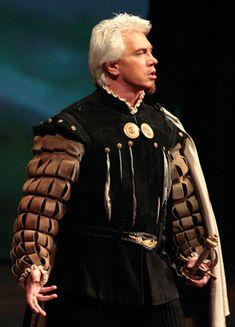 Costume From Verdi's Don Carlo.   Pictured Russian Baritone Dmirtri Hvorostovsky.