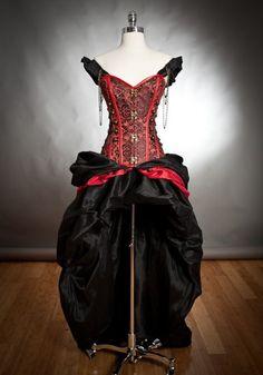 STEAMPUNK CLOTHING 2015 | 31 Striking Halloween Wedding Dresses