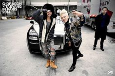 G-Dragon and Taeyang - Their Favorite Styles from Paris Fashion Week