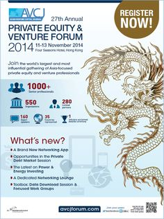 27th AVCJ Hong Kong Forum - Download the latest brochure for the latest information. #avcjforum #pe #vc #privateequity
