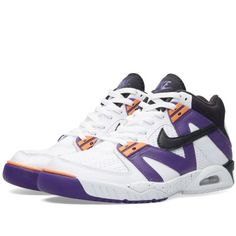 newest 8da1d f2fa0 Nike Air Tech Challenge III (White, Black  Voltage Purple) Air Max 95
