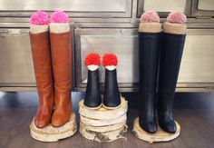 Keep your boots standing tall (even in the summer season) with these DIY boot stuffers. Here, fabric... - Honestly WTF​