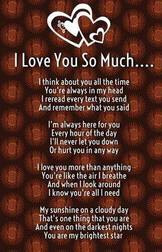 نتيجة بحث الصور عن i love you poems for him from the heart Love Mom Quotes, Love You Poems, Niece Quotes, Love Poem For Her, Daughter Love Quotes, Poems For Him, Soulmate Love Quotes, Dad Quotes, Romantic Love Quotes