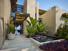 Olson Kundig Architects completed the design and development of the luxurious Mexico Residence located on a sandy beach in Baja. According to the architect