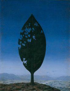 René Magritte - Le chemin du ciel (The road to heaven) - Oil on canvas - Sizes: 65 x 50 cm - 1967