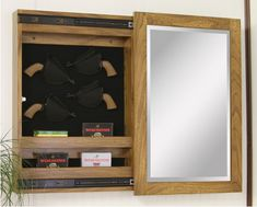 Awesome Idea. For when I get a pistol of some sort. | Gun Storage ...
