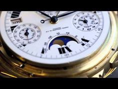 Up Close With The Patek Philippe Grandmaster Chime - YouTube