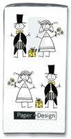Pañuelos de papel wedding! Que chulada!!