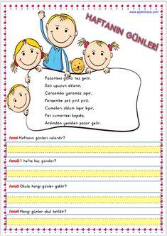 Turkish Language, Grade 1, Preschool, Projects To Try, Comics, Reading, Mini, Rage, Kid Garden