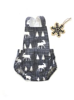 Handmade Baby Boy Romper by Sunny Afternoon on Etsy