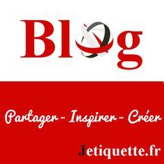 Nous avons lancé notre blog!!! Venez découvrir nos articles et autre: http://jetiquette.fr/blog/ #partager #creer #inspirer