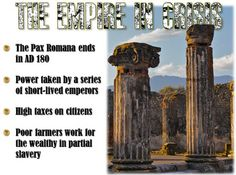 This lesson plan on the Decline and Fall of the Roman Empire reviews all the key reasons why the mighty Roman Empire finally fell. Great for visual learners and to think critically about how the many reasons all contributed to Rome's collapse.