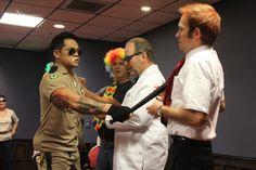 ImprovCity Halloween Show!  Jeff Bueno, David Rubel, myself and Alex Bower.