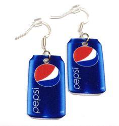 Pepsi Can Earrings @Carrie McNair