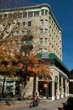 Basin Park Hotel - Eureka Springs, AR (haunted)