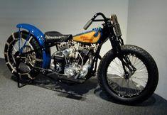 black 1932 Harley-Davidson DAH Hillclimber