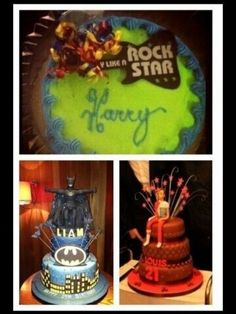 Lets compare the birthday cakes