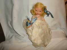 "NASB NANCY ANN Storybook Doll #184 Friday's Child is Loving & Giving ~ 5-1/2"" Bisque Doll by PastPossessionsOnly on Etsy"