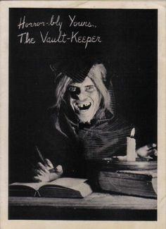 Johnny Craig as the Vault Keeper