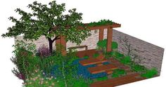 Image result for veggie and bee friendly landscape gardening Bee Friendly, Garden Landscaping, Aquarium, Veggies, Community, Gardening, Landscape, Image, Front Yard Landscaping