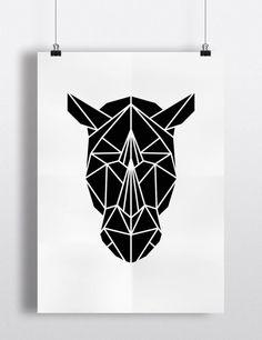 Rhino Black And White