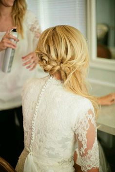 low hair styles the prettiest half up half hairstyles wedding 2853