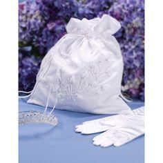 Rosebuds and Pearls Bridal Bag