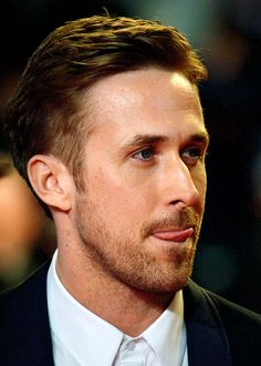 Ryan Gosling attends the 'Lost River' Premiere during the 67th Annual Cannes Film Festival on May 20. Yum.   :p