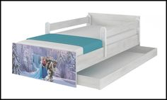 Disney children's bed Frozen Waterfall – Kiddymill Magical Room, Childrens Desk, Mattress Frame, Bed With Drawers, How To Make Bed, Kid Beds, Cot, Kids Bedroom, Toddler Bed