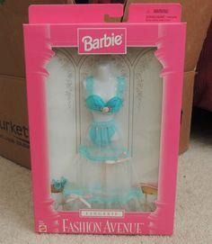 Barbie Doll Fashion Avenue Lingerie Bra Panties Slip Heels New | eBay