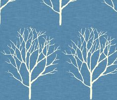 Tree_blue_linen by Holli_zollinger