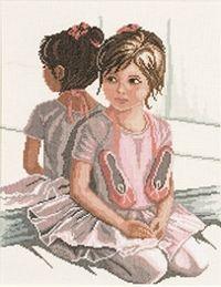 The Ballet Lesson Cross Stitch 35061
