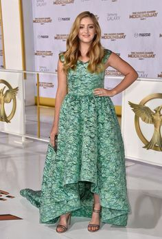 Pin for Later: Let the Best Dressed Games Begin! Willow Shields in Christian Siriano