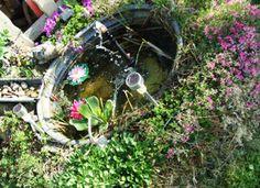 #Idylle im #Garten am #DIY #Mini #Teich