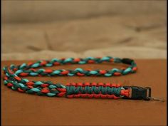 How to Make a Paracord Lanyard or e-cig Lanyard - YouTube