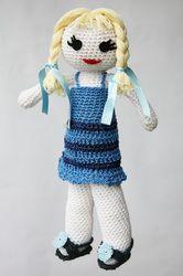 bambola ancora senza nome (uncinetto) - still unnamed doll (crochet)
